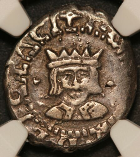 1610 Spain Valencia Philip III 1 One Real Cob Silver Coin - NGC VF 30 - KM# 7