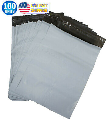 11 X 16.5 White Poly Mailer Envelopes Shipping Bags Self Adhesive Postal Bag 100