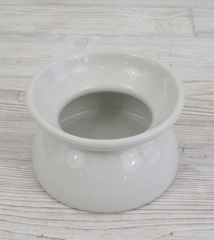 Antique Porcelain/Ceramic Child's Potty Chamber Pot White No Marking /c