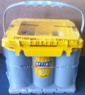 OPTIMA YELLOW TOP D35 12V48AH 650CCA AGM Deep Cycle battery Southport Gold Coast City Preview