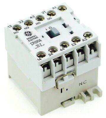 Ge Miniature Din Rail Magnetic Contactor Cr6ra31zc 480v Ac Coil Cs4-31z-480