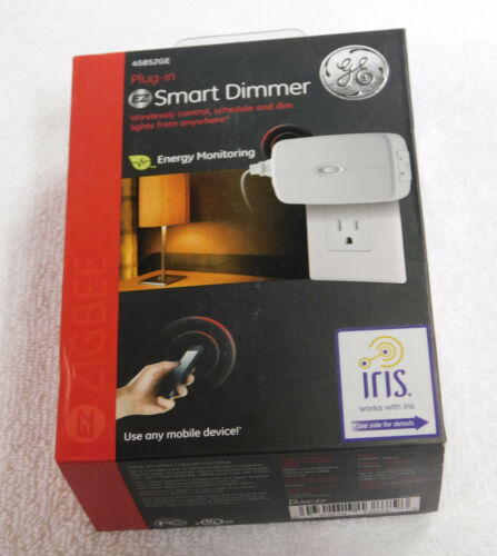 GE Zigbee Plug-In Energy Monitoring Smart Dimmer ZB3101 NEW SEALED