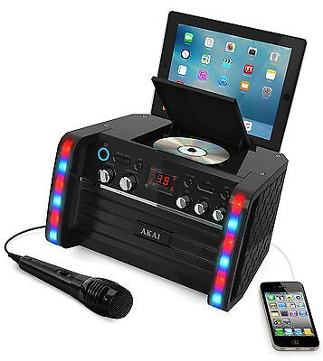 NEW Karaoke Machine System CD Singing Party Microphone Party Portable Speakers