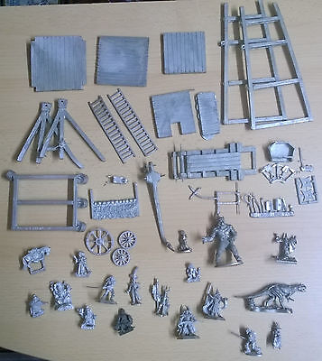 Lot of vintage pewter miniatures
