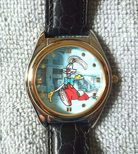 Disney Store Fossil Watch Collectors Series IV Roger Rabbit Limited 681/7500
