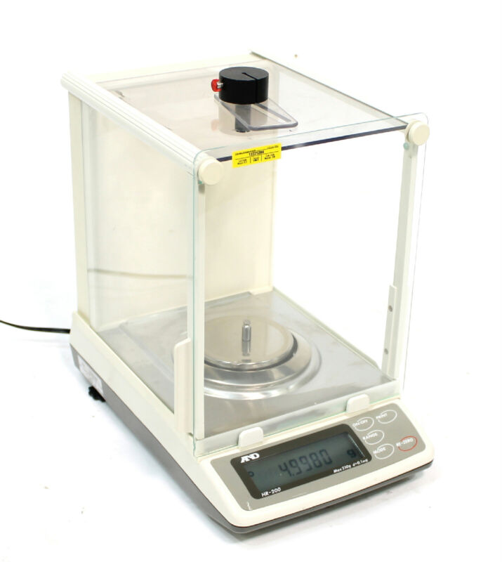 A&D HR-200 Weighing Laboratory Balance / Analytical Scale QTY