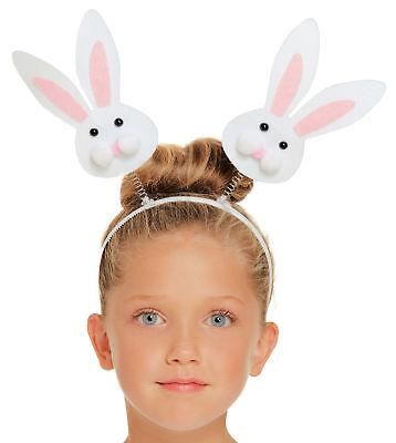 Häschen Kopf Bommel Stirnband - Kostüm Zubehör Kostüm Welttag des (Kopf Des Kostüms)