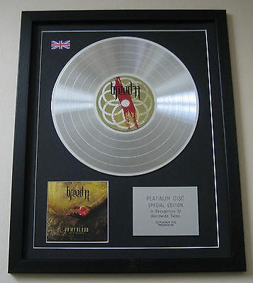 BREED 77 In My Blood CD / PLATINUM LP DISC Presentation