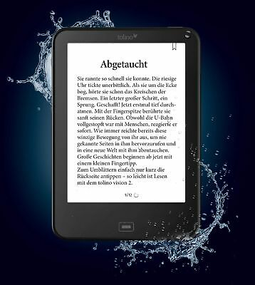 Tolino Vision 4 HD eBook-Reader Schwarz