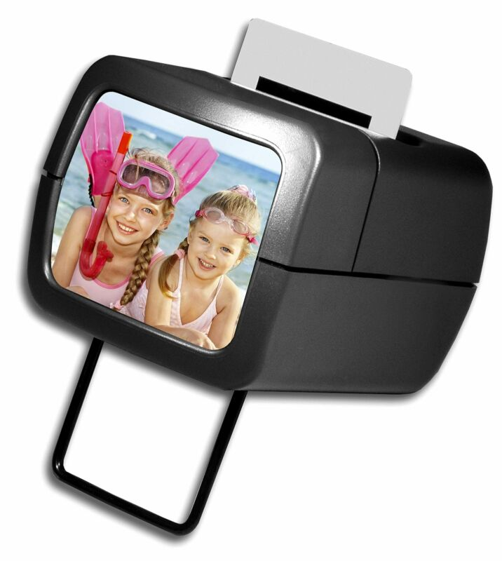 AP Photo Illuminated Slide Viewer Battery Operated & Pressure Activated Transpar