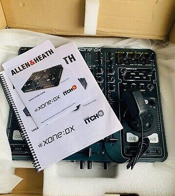 Allen & Heath XONE:DX Professional DJ Mixer w/Manual & Box WORKS