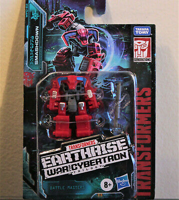 Transformers Earthrise WFC-E2 Autobot SMASHDOWN Battle Master, MOSC/New (2019)