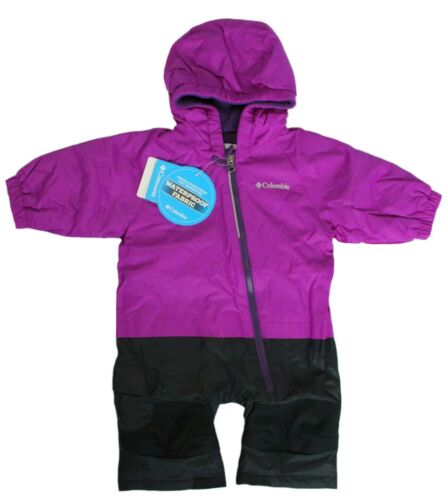 Columbia Baby Girl Size 3-6 Months Little Dude 1-Pc Snowsuit