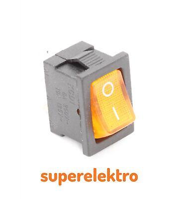Kippschalter Wippschalter Rundumkennleuchte Signal Lampe Leuchte Kehrdienst
