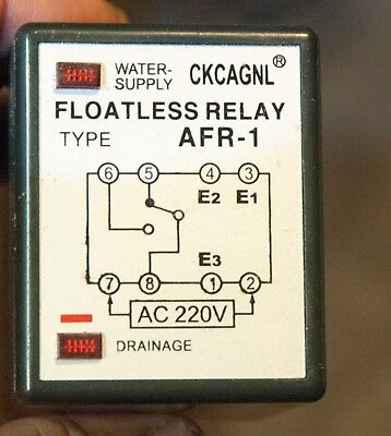 Water Fluid Level Controller Relay 220v Pf083a Base Included Usa Shipping