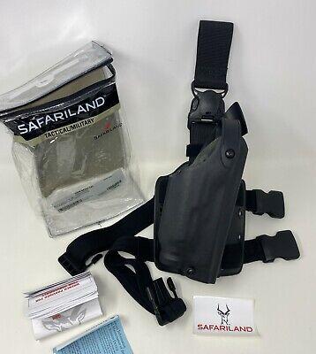 Safariland 6005 Sls Tactical Rh Leg Holster Qd Strap Glock 34 35 M3m6 Light