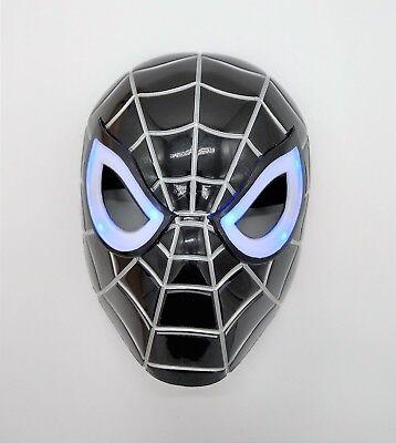 Marvel Black Spiderman Venom mask with LED Eyes That Light Up (with Batteries)
