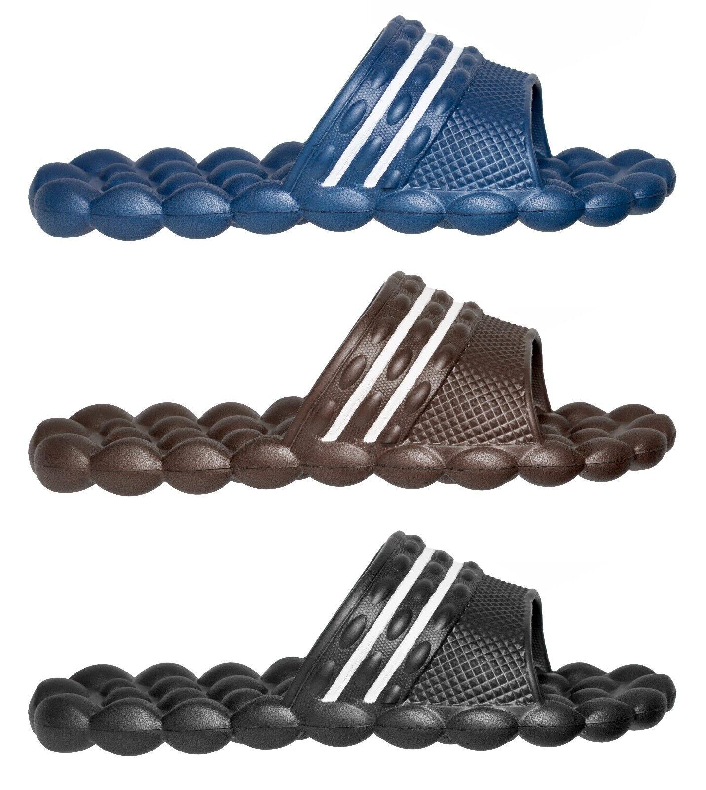 HG Deluxe Comfort Solarsoft Massage Slippers Slides