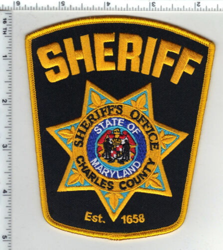 Charles County Sheriff (Maryland) Shoulder Patch - new