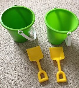 New never used bucket and shovel.