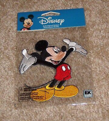 Disney Embroidered Sticker (EK Success Disney Embroidered Sticker  ~ Mickey Mouse )