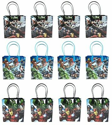 Marvel Avengers Goody Bag Party Goodie Gift Birthday Candy Bags - Goodie Bag