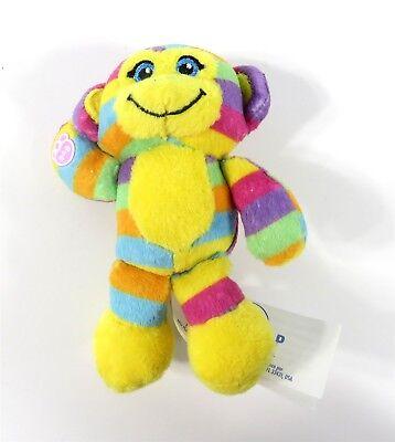 Build A Bear Workshop Mini Bear Plush Rainbow Monkey NEW - Rainbow Monkey Plush
