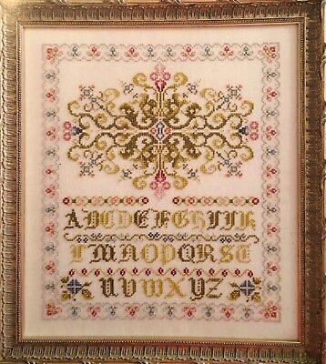 Lime Walk Sampler Rosewood Manor Cross Stitch Pattern for sale  Shipping to India