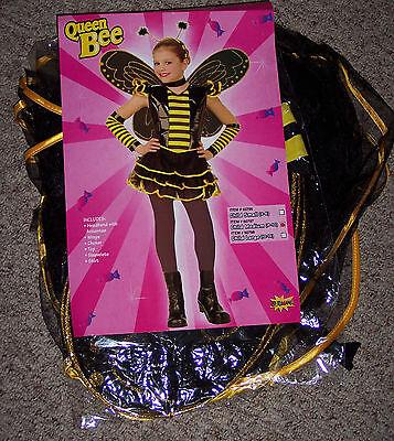 Queen bee costume,Girls med,8-10,Punk rock,funky bee,complete costume,Halloween
