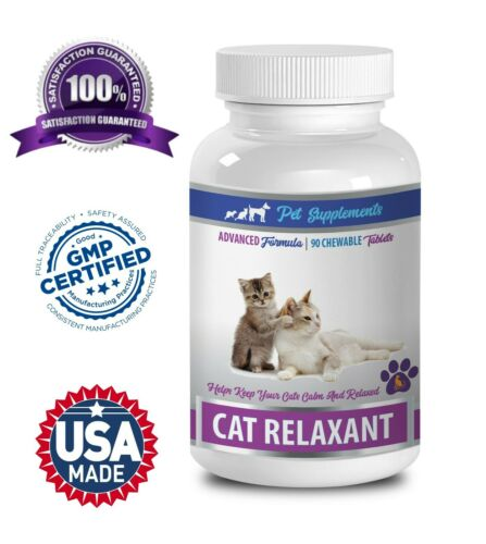 calming treats for cats - CAT RELAXANT - tryptophan cat 1B