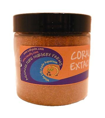 CORAL EXTACY 4oz Coral Food Nutrition SPS LPS Aquarium Reef Tank Fish Feed 4z