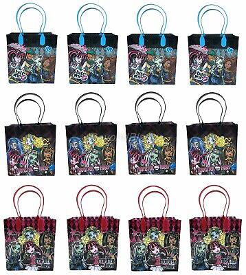 Monster High Überraschungstüte Party Goodie Geschenk Geburtstag Candy Taschen (Monster High Party-taschen)