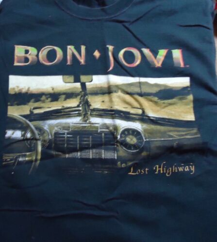 Bon Jovi Lost Highway T Shirt (Medium)