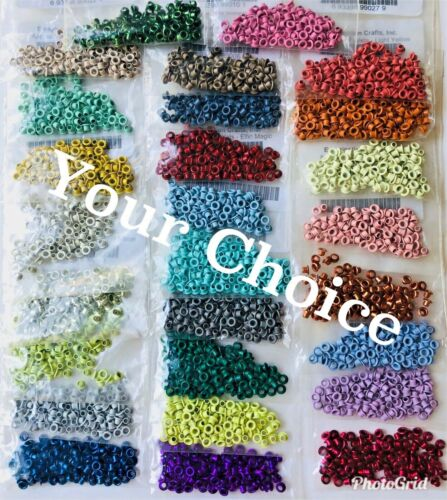 100 Emagination Crafts Eyelets - Your choice of color - NEW