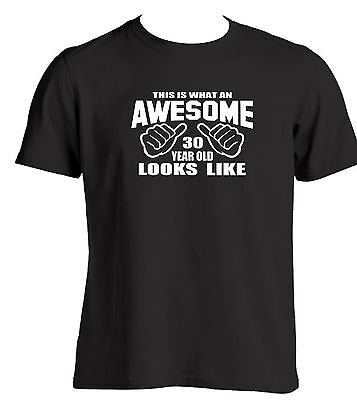30th Birthday Gift Ideas For A 30 Year Old Mens T Shirt Birthday Present Ideas (30 Birthday Ideas)