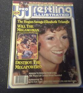 Pro wrestling illustrated magazine - JAN 1989