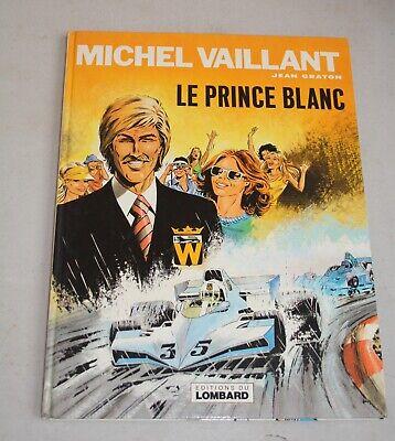 BD : Michel vaillant.Le prince Blanc.Jean Graton.Lombard . 1978.