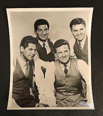 THE UNTOUCHABLES  DESILU  TV  PRESS PHOTO  CAST  ROBERT STACK  1965