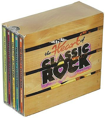 Heart Of Classic Rock Box Set Time Life 10 Cd 144 Hits Usa Made Shipped
