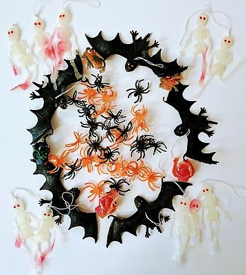 50 Piece HALLOWEEN Novelty Toy Asst FINGER MONSTER Party Favor PINATA Loot  NIP - Pinata Halloween