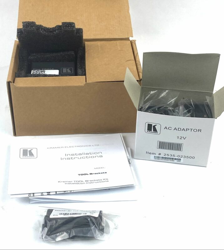 New Open Box Kramer PT-572 + HDMI Over Twisted Pair Receiver
