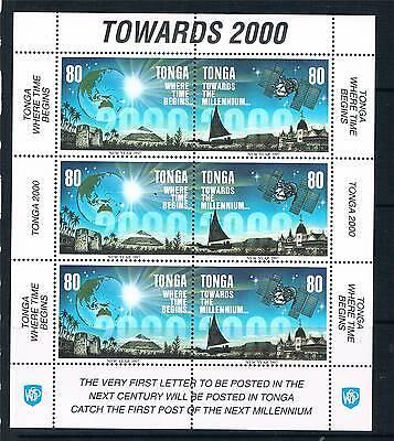 Tonga 1996 Towards the Millenium SHEETS SG1366/9 MNH