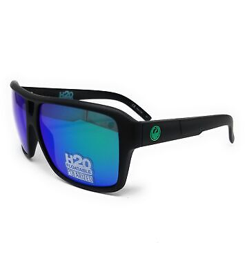 DRAGON Sunglasses THE JAM POLAR 011 Matte Black H20 Square Unisex (Dragon H20 Sunglasses)