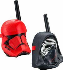 KIDdesigns - Disney Star Wars Episode 9 Walkie Talkies - Black/Red