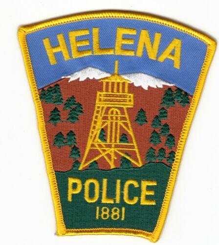 HELENA MONTANA POLICE SHOULDER PATCH MT (OLDER)