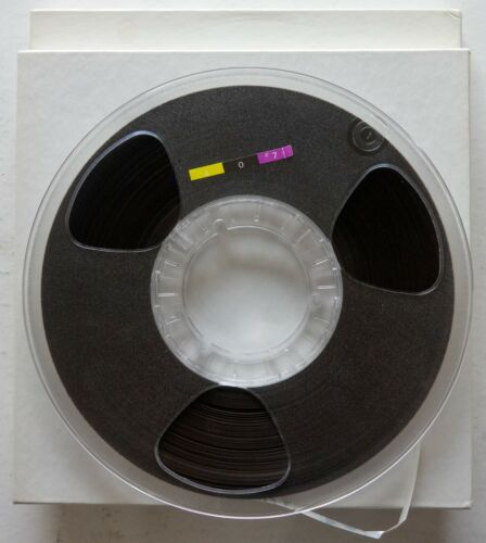 Lot of 2 Polyline 10 1/2 in Plastic Reels NAB for 1/4in tape boxed FREE 407 tape