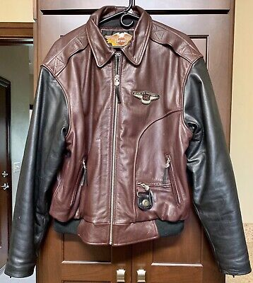 HARLEY DAVIDSON 95TH ANNIVERSARY Leather Jacket Men's Size XL