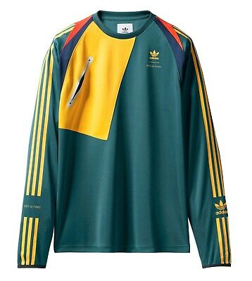 Adidas Originals x BED J.W. FORD 'Game Jersey 2' L/S Sports Jersey T-Shirt M NWT