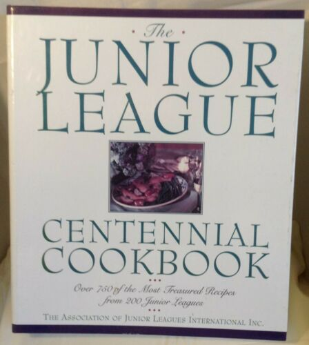 The Junior League Centennial Cookbook - over 750 recipes -  plus 2 bonus books