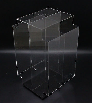 Acrylic Candy Bin 3 Tier Literature Rack Dry Food Display Bin Brochure Holder